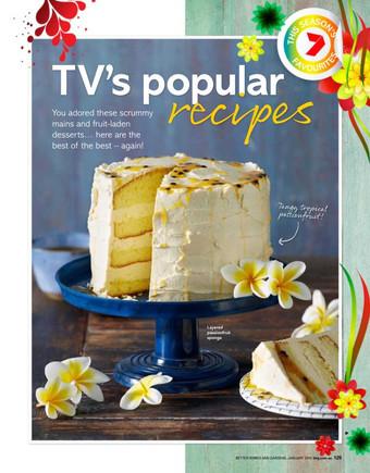 TV's Popular RECIPES - This Season's 7 Favourites