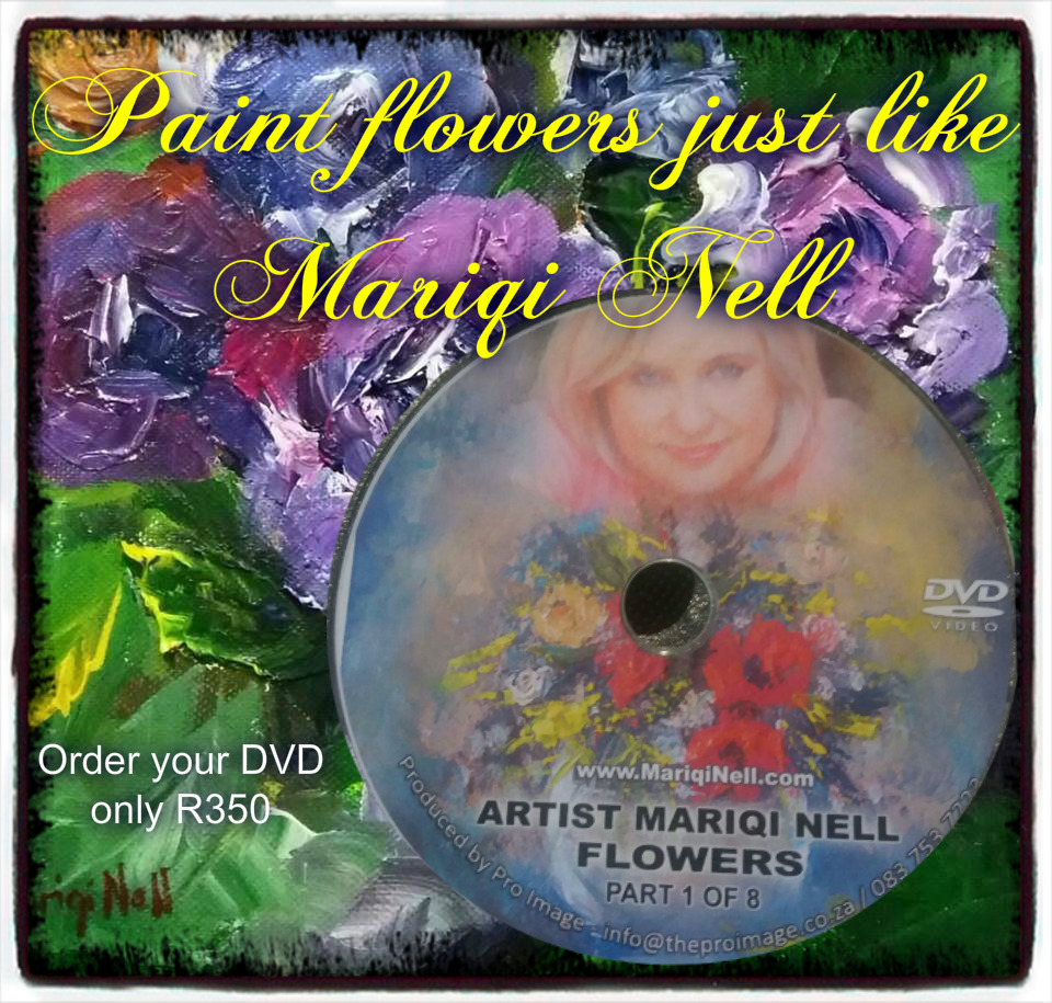 Paint Flowers DVD