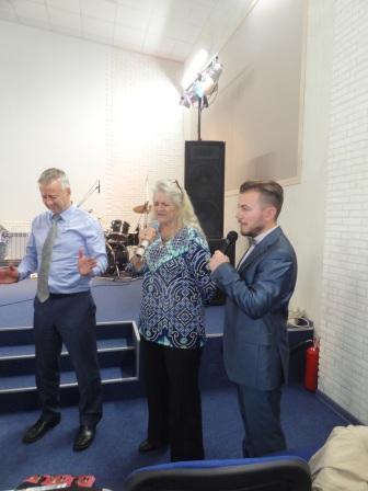 IN OF CHURCH IN KURSK RUSSIA