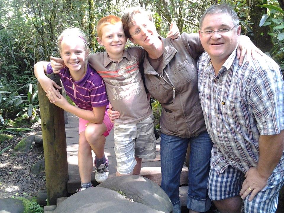 Mienke, Rijn, Kumi & Sam