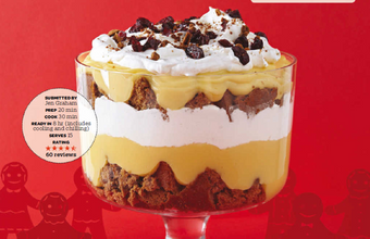 Eggnog-Gingerbread Trifle