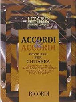 ACCORDI E ACCORDI prontuario per chitarra LIZARD
