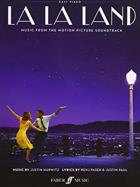 La La Land Easy Piano Spartiti Colonna Sonora