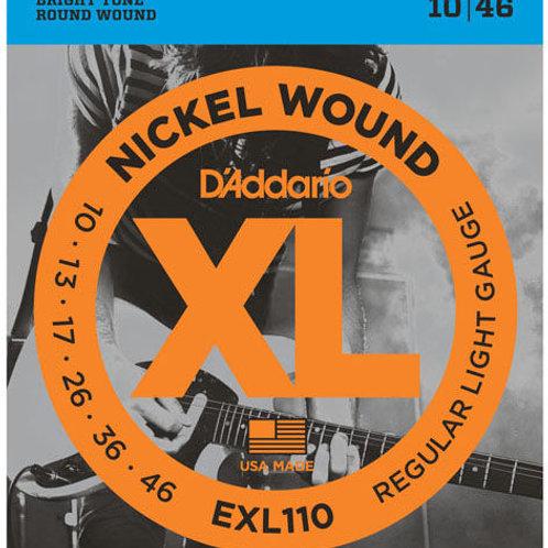 D'addario EXL110 Elettrica 10-46