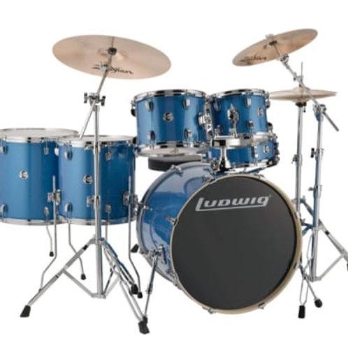 Ludwig LCEE622023 Element Evolution Blue Sparkle