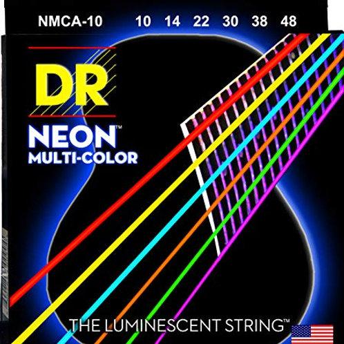 DR NMCA-10 Neon Multi-Color Acustica 10-48