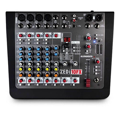 ALLEN&HEAT ZEDI10FX 4mic con effetti usb interfaccia audio