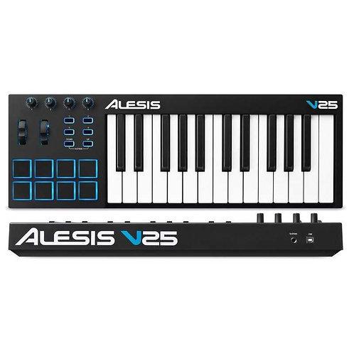Alesis V25 Tastiera Midi 25 Tasti con Pad