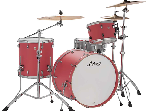 Ludwig NeuSonic Coral Red