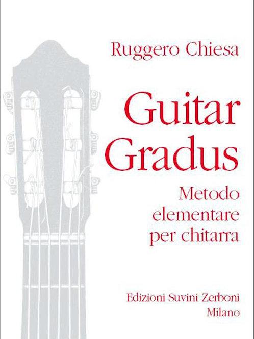 GUITAR GRADUS CHIESA Metodo elementare per chitarra