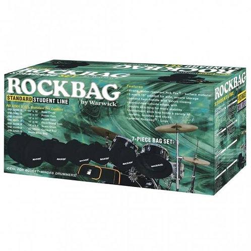 """Rockbag Kit 20 10 12 14 Rull 14 Piatti 22"""" Bacchette 22902"""