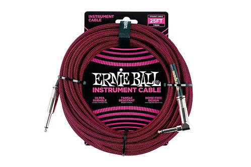 Ernieball Jack Jack 7.5m Telato Nero e Rosso P06062