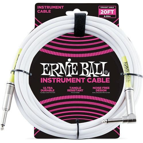 Ernieball Jack Jack L 6,09mt P06047 Bianco