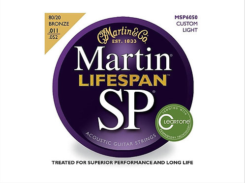 Martin MSP6050 Lifespan SP Bronze Acustica 11-52