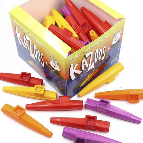 Dunlop DUN7700 Kazoos in Plastica Colorati