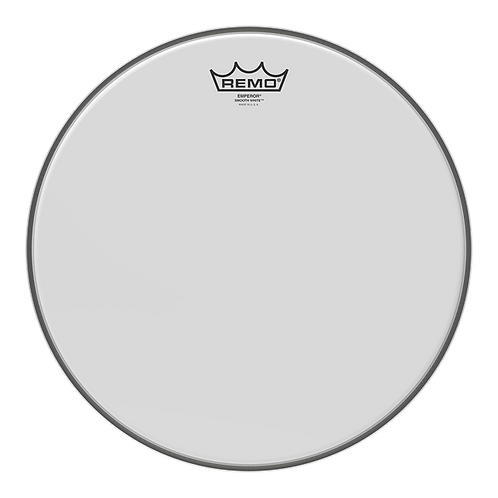 Remo Emperor Smooth White 10""