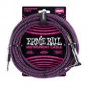 Ernieball Jack Jack 7.5m Telato Viola e Nero P06068