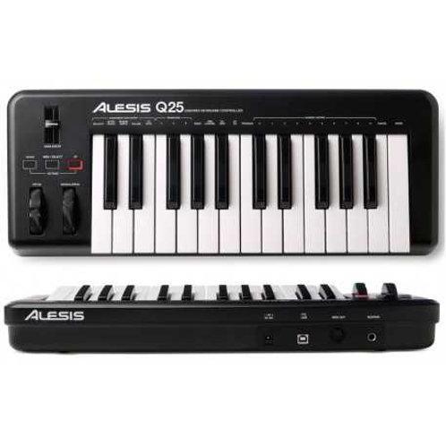 Alesis Q25 Tastiera MIDI 25 Tasti