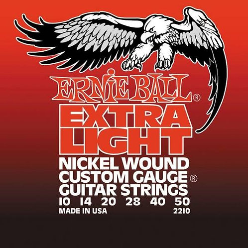 Ernie Ball 2210 Custom Gauge Elettrica 10-50