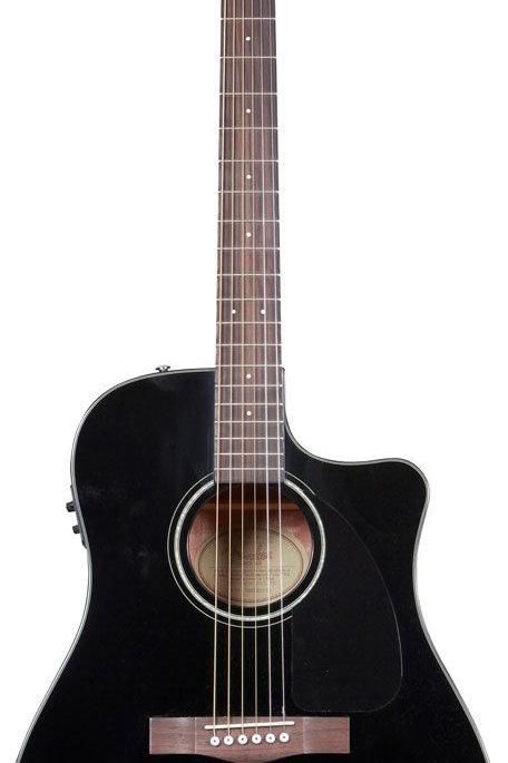 Fender CD-60CE Acustica Elettrificata Black