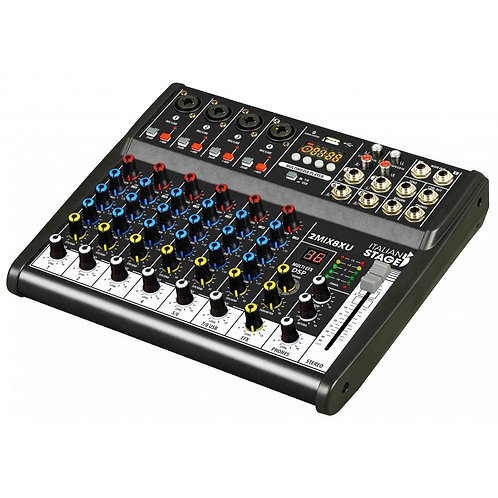 ITALIAN STAGE 2MIX8XU 4mic USB PLAYER