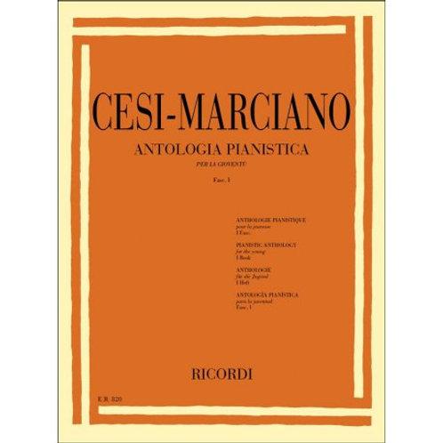Antologia pianistica cesi marciano fasc. 1