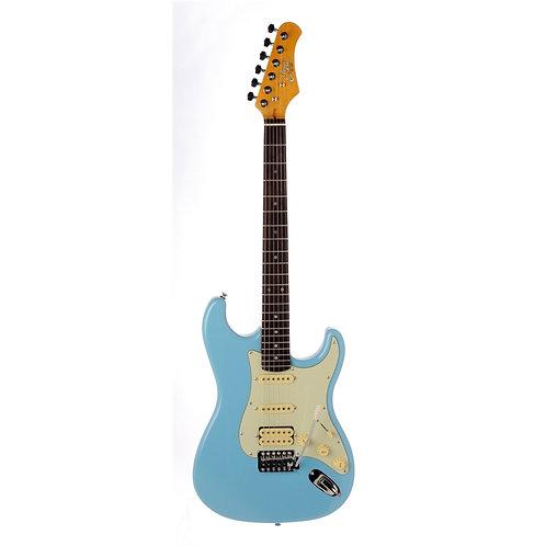 Eko S-350V Stratocaster Vintage Daphne Blue