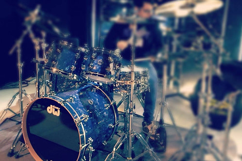 DW Collector's Serie Finish Ply Navy Diamond Blue