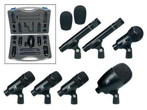 GATT Audio DKIT-7 Set 7 Microfoni