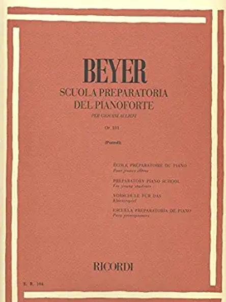Beyer OP-101 Scuola preparatoria del pianoforte