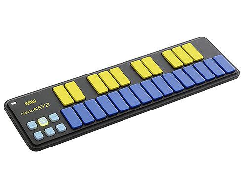 Korg nanokey2 blue tastiera usb mini