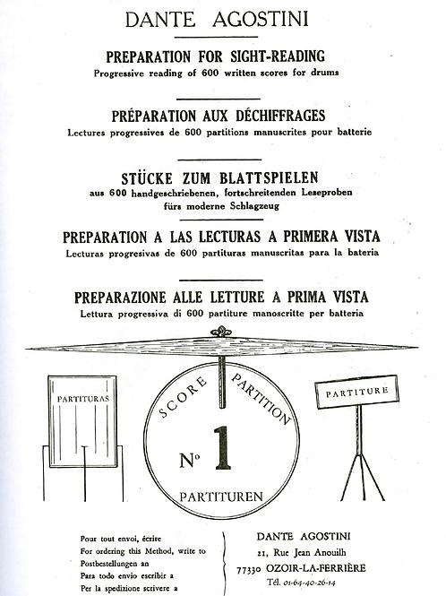 Dante Agostini Letture a prima vista vol 1