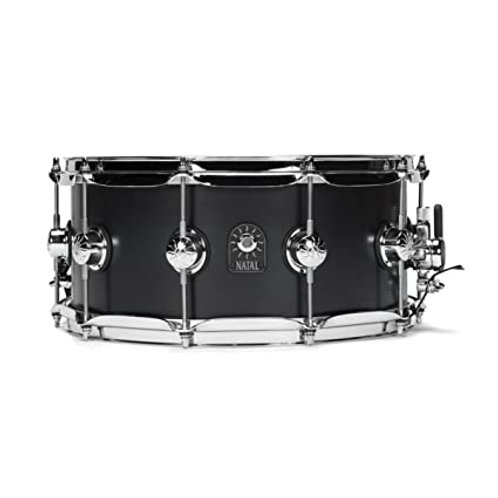"Natal Arcadia Birch Snare 14x5.5"" Glossy Black"