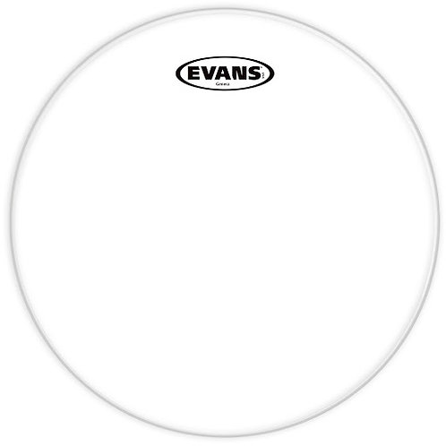 Evans Genera Resonant Clear 10""