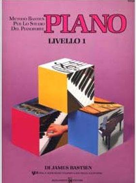 PIANO LIVELLO 1 Bastien Metodo per pianoforte