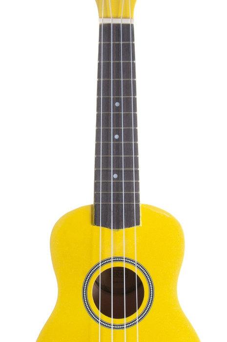Oqan QUK-1YW Ukulele Soprano Yellow