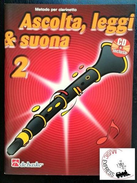 Ascolta Leggi & suona 2 metodo per clarinetto