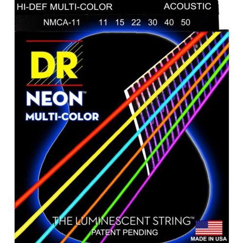 DR NMCA-11 Neon Multi-Color Acustica 10-50