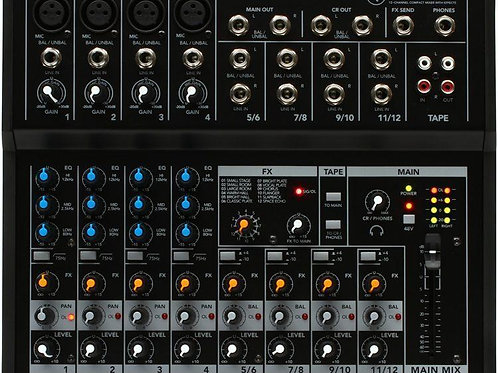 Mackie Mix12FX 12Channel compact