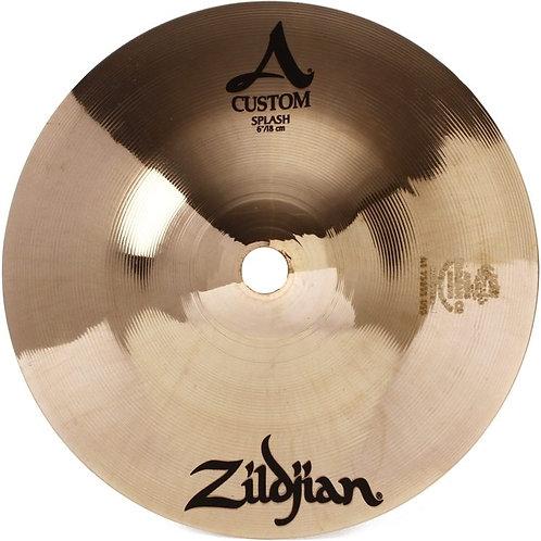 "Zildjian A Custom Splash 6"""
