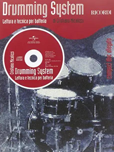 Drumming System Micalizzi Lettura e Tecnica per Batteria
