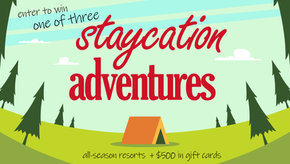 Enter these sweepstakes for your chance to win a SaskWatch Staycation Adventure!