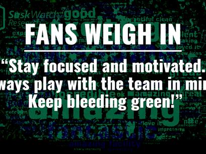 Fans Weigh in