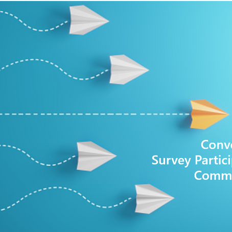 Converting Anonymous Survey Participants to Online Panel Members