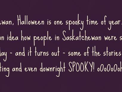 Halloween in Saskatchewan