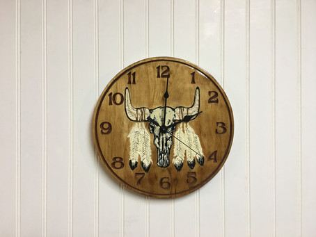 Add Rustic Charm With These Wall Clock Decorations Ideas