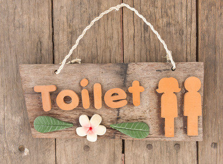 Rustic Bathroom Decor: 6 Sign Ideas That Will Make Your Guests Giggle
