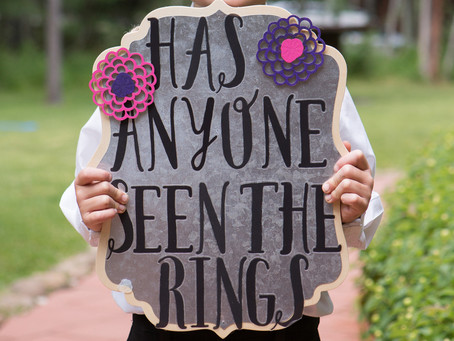 5 Insta-Worthy Flower Girl and Ring Bearer Sign Ideas