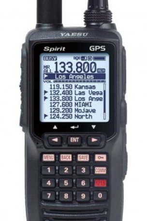 Radio YAESU Vertex FTA - 750L VHF Handheld Radio LI ION battery - banda aérea