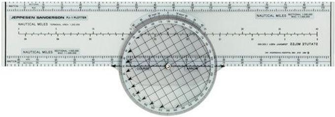 Plotter rotatorio Jeppesen PJ-1 rotating Azimut